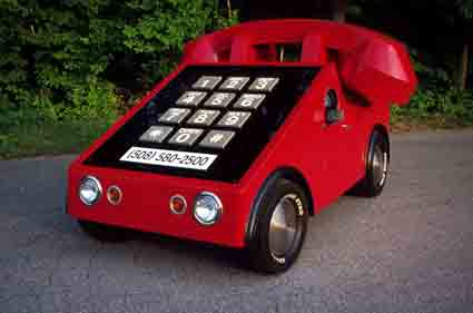 Howie Davis, Boston Ma: Phone car