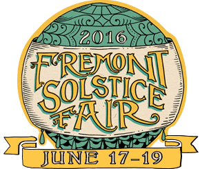 2016 Fremont Fair and Solstice Parade. Join the fun!